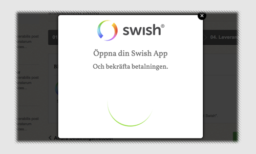 swish API for Prestashop